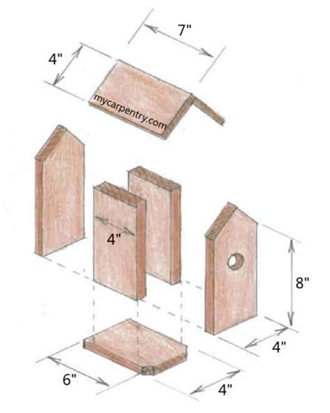 small bird house plans bird house designs and plans woodwork