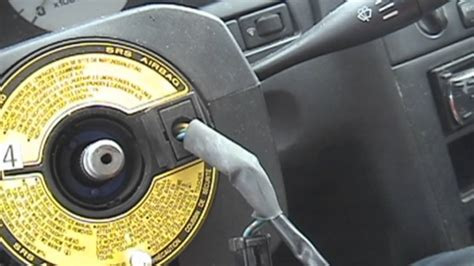 nissan maxima steering wheel replacement youtube