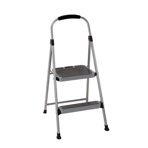Two Step Stool by Shop Cosco 2 Step Steel Step Stool At Lowes