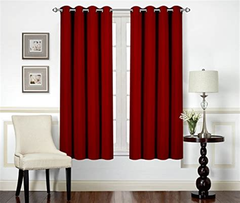 room blackout curtains curtains blackout room darkening grommet window panel drapes 2 panel set 52x63 quot ebay