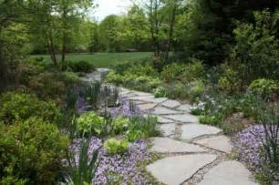 backyard pathways how to build a pathway across a lawn