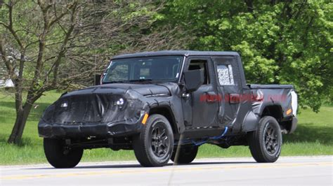 Jeep Truck New Jeep Wrangler Reveal Suspension And
