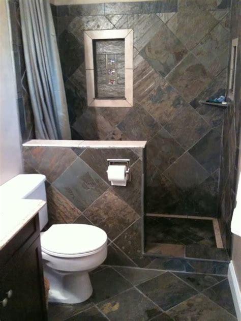 desain kamar mandi minimalis tanpa bath up pakai batu alam kamar mandi minimalis desain kamar