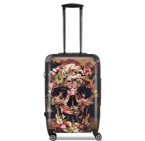 designer cabin luggage lightweight luggage bag cabin baggage with skulls
