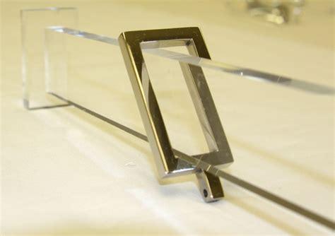 acrylic drapery hardware acrylic curtain pole modern curtain rods by gretchen