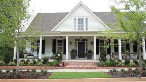one story farmhouse plans southern living s 2012 farmhouse renovation sneak peek