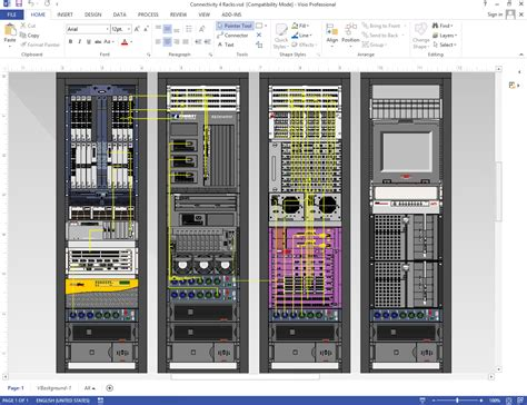 6 best images of visio rack diagram template server rack