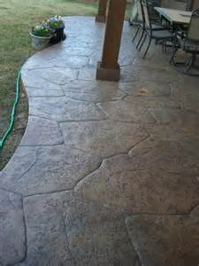 flagstone sted concrete gallery decorative and sted concrete patios in dallas plano and