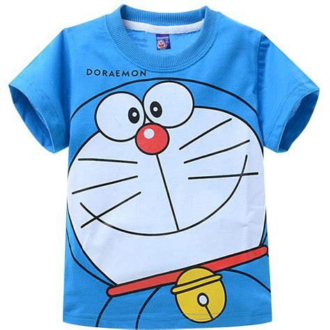 Baju Kaos T Shirt Anime Kartun 20 clearence free shipping cotton 2015 children summer t shirt boys doraemon