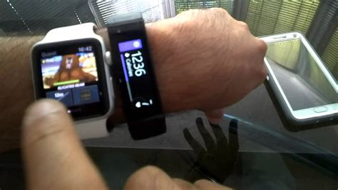 Microsoft Band 2 Di Indonesia tripple wearable test 2 simultaneous microsoft band apple use thru glass pt 1