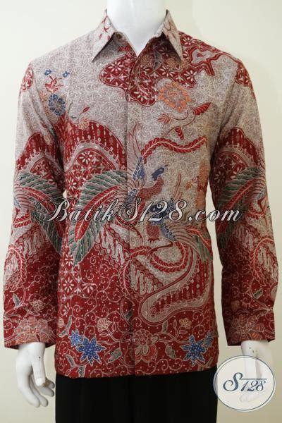 Baju Wafer Ukuran L baju batik premium ukuran l asli batik harga