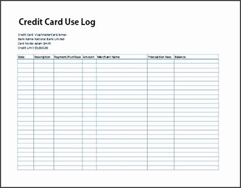 credit card statement template excel 7 printable bank statement template sletemplatess