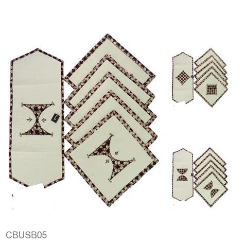 Sarung Bantal Set Unik sarung bantal kursi batik blaco motif klasik bordir set