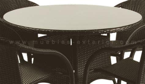 mesas de jardin redondas mesas de jard 237 n redondas
