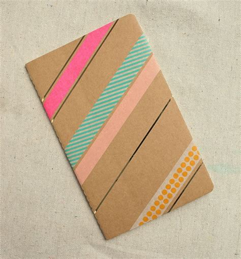 Decorating Notebooks For School by Notebook Idea For Back To School Washi Crafts