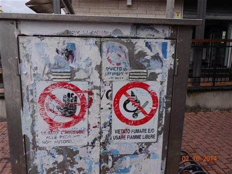 comune di fiumicino ufficio tributi pomezia affissione abusiva le foto