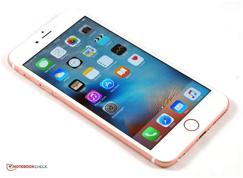 erster eindruck apple iphone 6s und iphone 6s plus im test notebookcheck tests