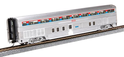 Promo Capitan Stainless Fitrimarts walthers proto ho 920 14311 85 budd hi level 72 seat coach car amtrak phase i lighted