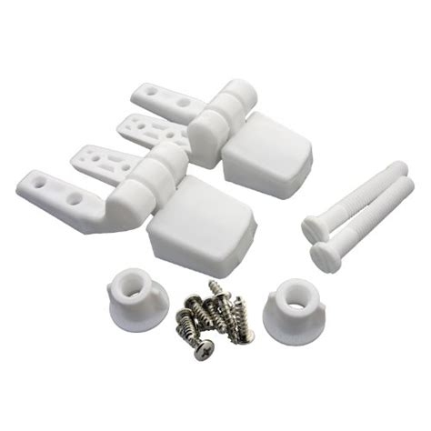 bemis toilet seat hinges lasco 14 1039 white plastic toilet seat hinge with bolts
