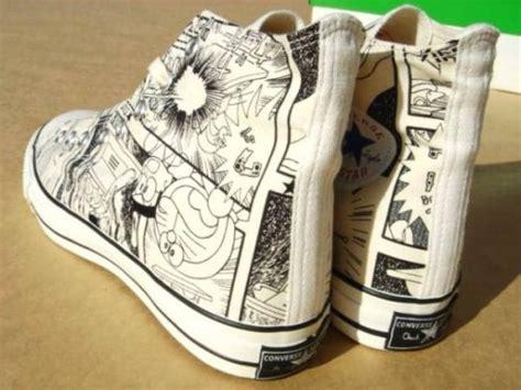 Doraemon Converse Adidas les sneakers et les mangas converse chuck