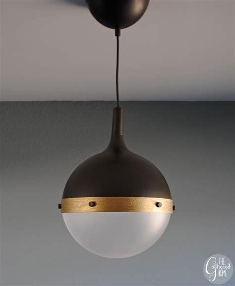 Ikea Kitchen Hanging Lights Diy Ikea Hack Hicks Pendant Light The Gathered Home