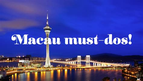 Top Six Different Things to Do in Macau   Sassy Hong Kong