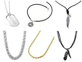 9 different types of necklaces for men styles at life