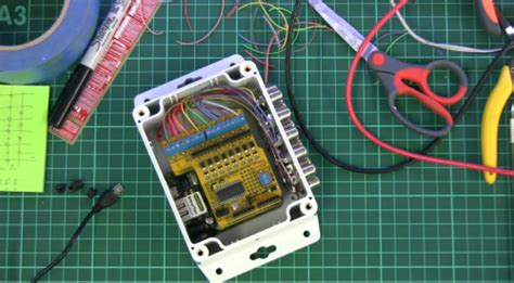 building an arduino home automation controller project
