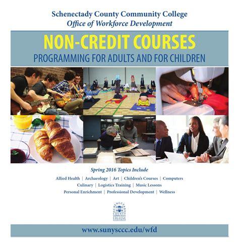 100 courses community education parents of