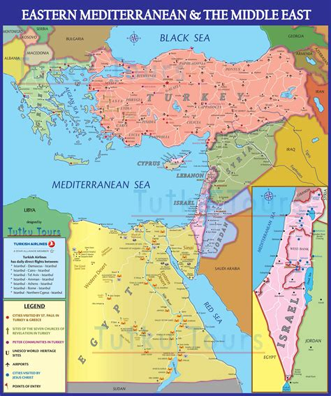 middle east map nicosia tutku tours turkey ancient cyprus the stage of