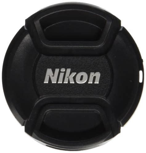 nikon lens cap front cover snap dslr pinch 52mm 18 55mm 55 200mm 2 pack ebay