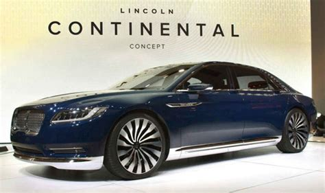 2019 the lincoln continental 2019 lincoln continental price specs review