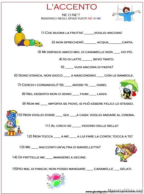 lettere accentate spagnolo accento quando si usa spiegazione esercizi e giochi
