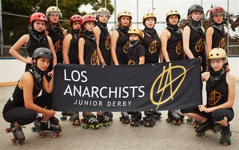Roller Derby To Bond Its Your Playground by Meet The Badass Of Los Anarchists L A S Roller