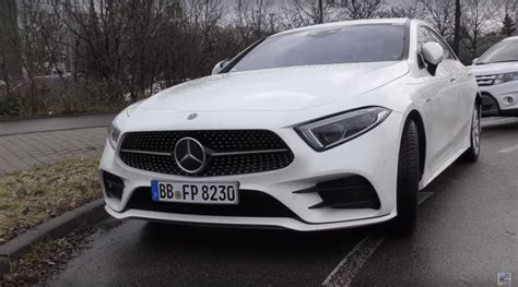 mercedes white 2018 mercedes benz cls 350 looks underwhelming in white