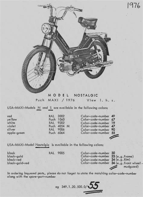 1977 puch maxi moped wiring diagram school moped