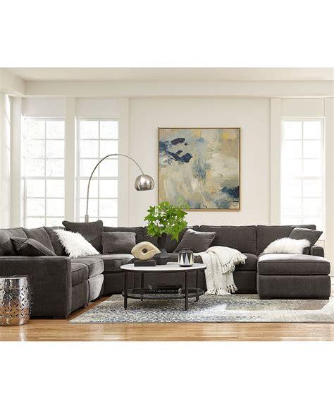 radley 5 fabric chaise sectional sofa radley sectional sofa macys and sofa set