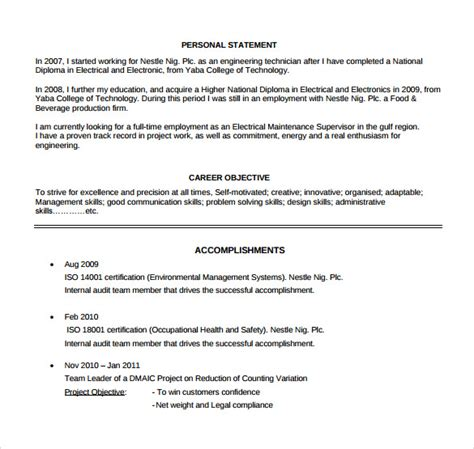 Supervisor Resume by Supervisor Resumes Free Excel Templates
