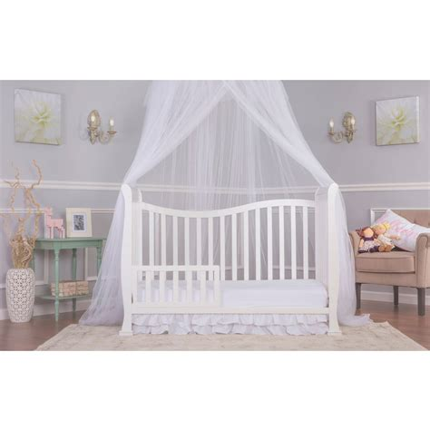 What Is Crib 5 by On Me Violet 7 In 1 Convertible Style Crib White Black Baby Ebay