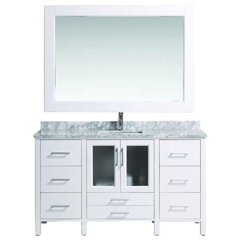home depot design vanity design element stanton 36 in w x 20 in d vanity in antique white design element stanton 60 in w x 22 in d vanity in white
