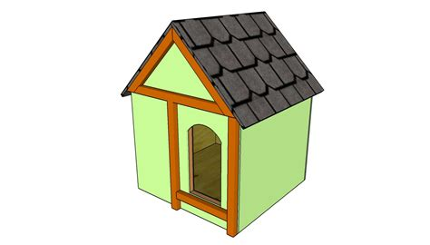 Simple Dog House Plans Myoutdoorplans Free Woodworking Diy Insulated House Plans