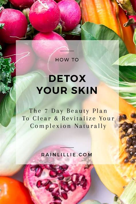 Detox Diet And Skin by 17 Best Ideas About Clear Skin Detox On Acne