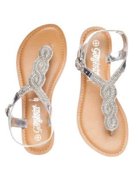 A C C E P T Falihah Sandal silver flat sandals and shoe gallery on