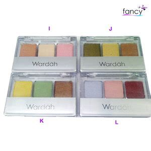 Eyeshadow Wardah Favorit jual wardah eye shadow fancy grosir