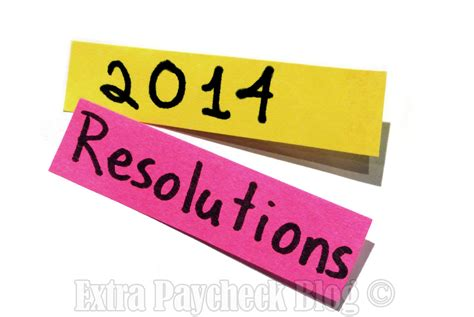 why you must write down your 2014 resolutions extra
