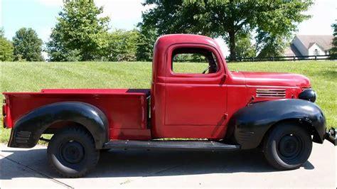 1939 dodge truck parts 1939 dodge electric truck part 1