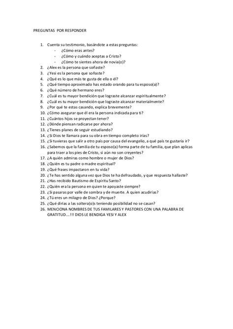 preguntas y respuestas para mi novio preguntas para mi novio