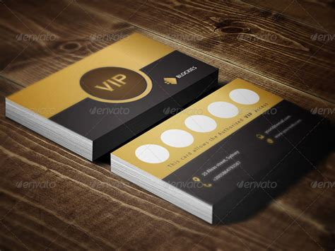 Vip Discount Card Template by 15 Premium Loyalty Card Design Templates