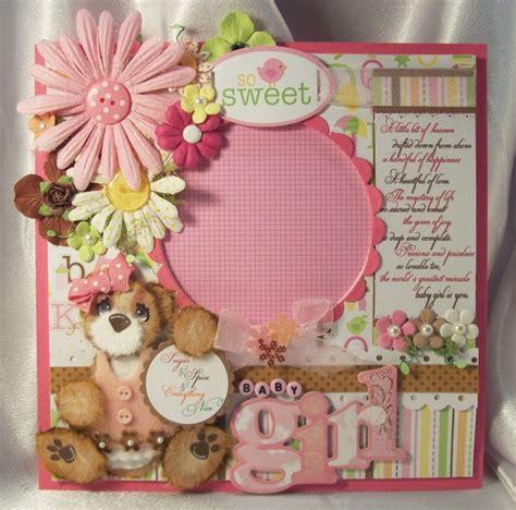 Handmade Baby Scrapbook Ideas - quot baby quot scrapbook scrapbook page