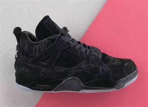 Air 4 Kaws kaws air 4 black 930155 001 sneaker bar detroit